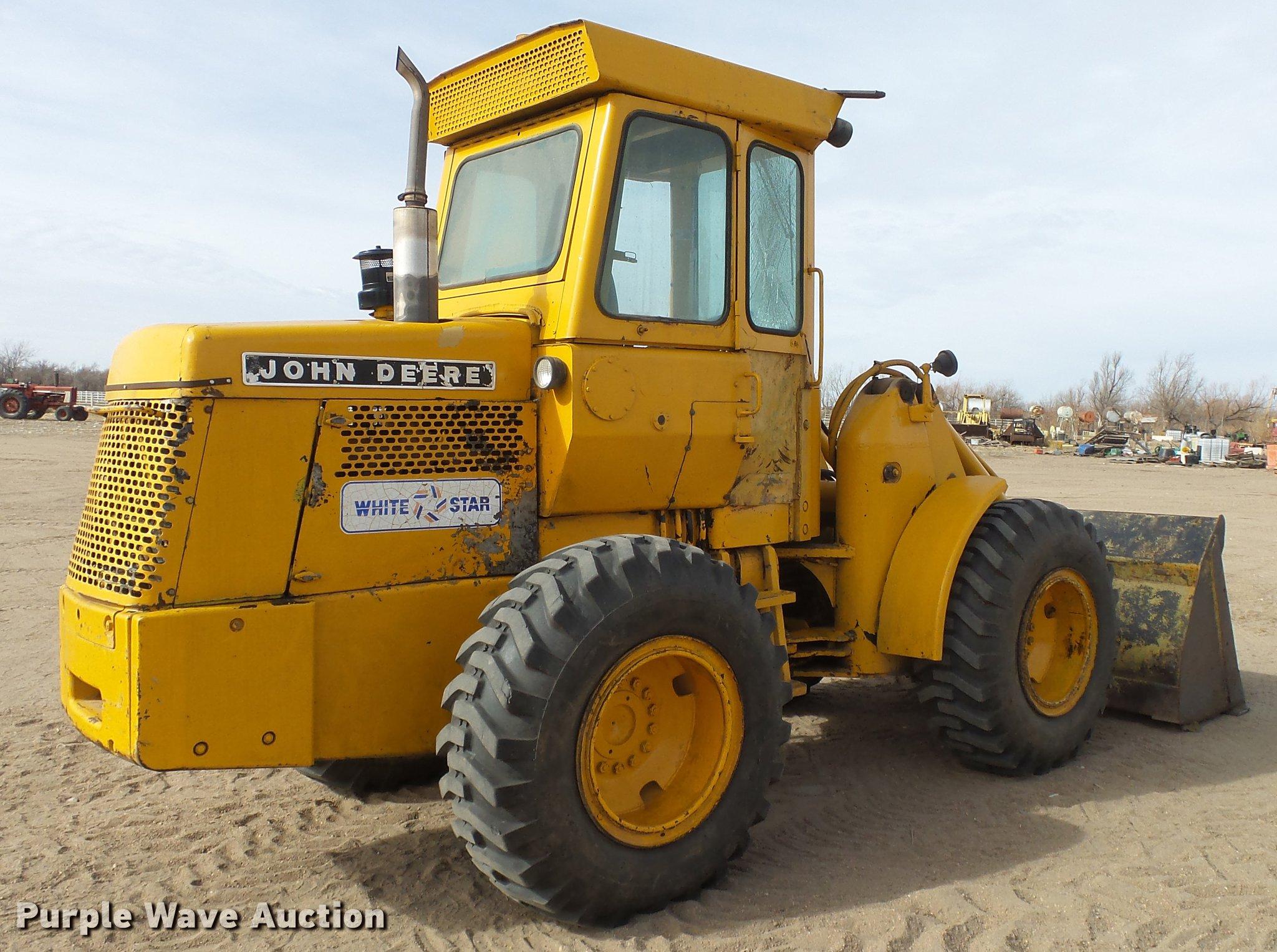 ... John Deere 544A wheel loader Full size in new window ...