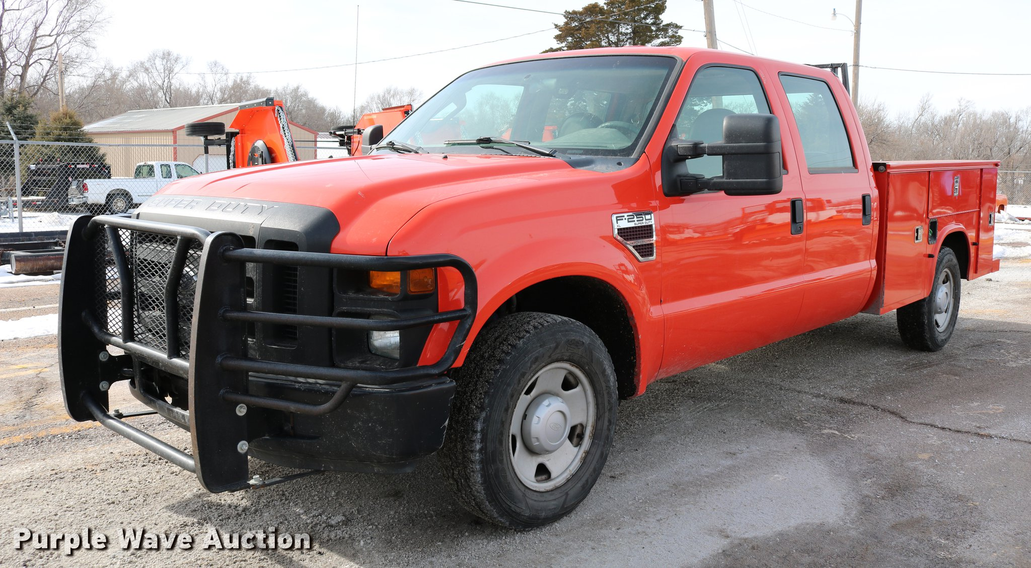 2008 Ford F250 Super Duty Utility Bed Pickup Truck Item Dd