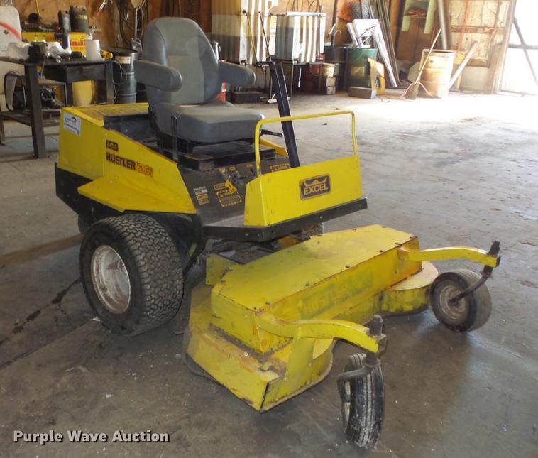 261 hustler mower