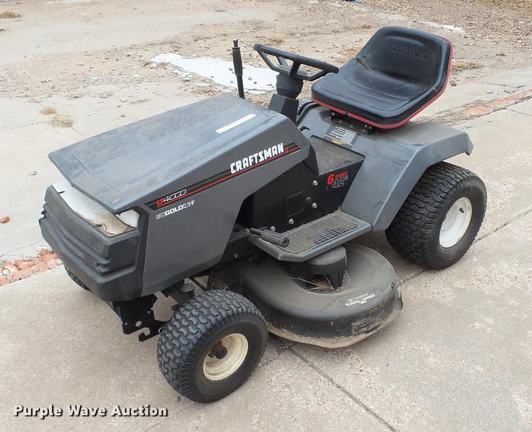 Magnificent Craftsman Lt4000 Lawn Mower Item Dt9504 Sold March 20 G Wiring Database Indigelartorg
