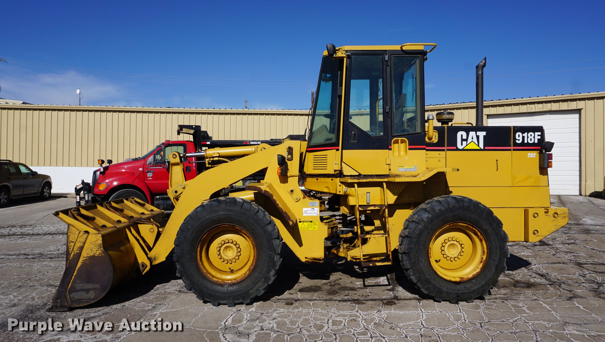 1994 Caterpillar 918F wheel loader | Item DB0441 | SOLD! Mar