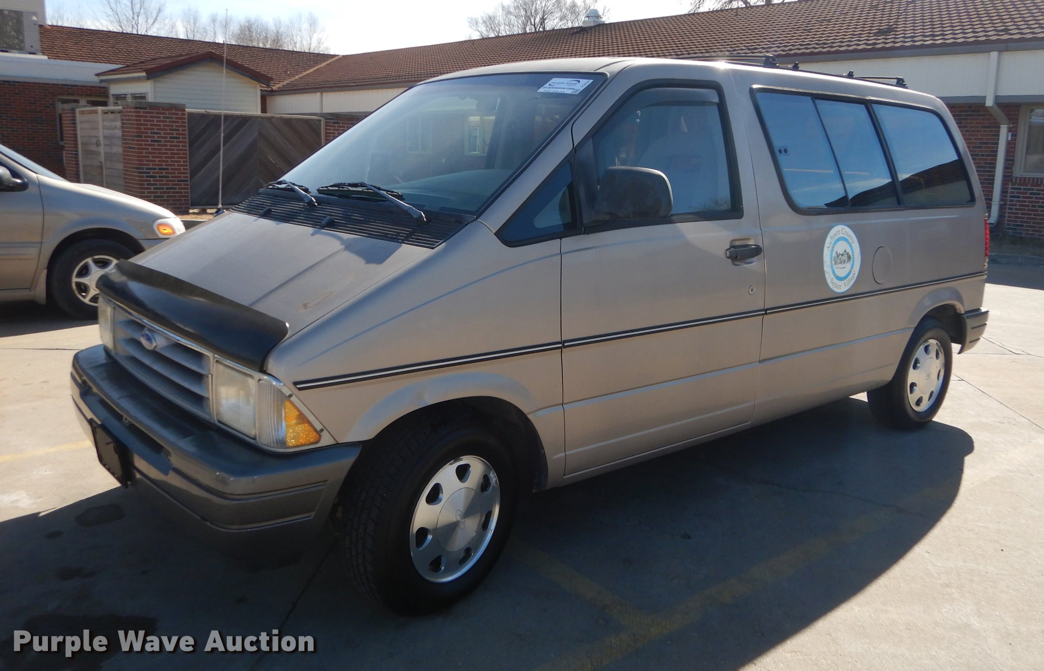 fuel mileage ford aerostar 1997