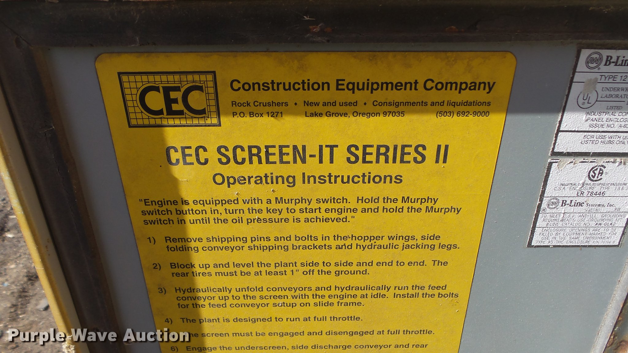 Cec screen it screen plant item dc0620 tuesday march 20 full size in new window greentooth Choice Image