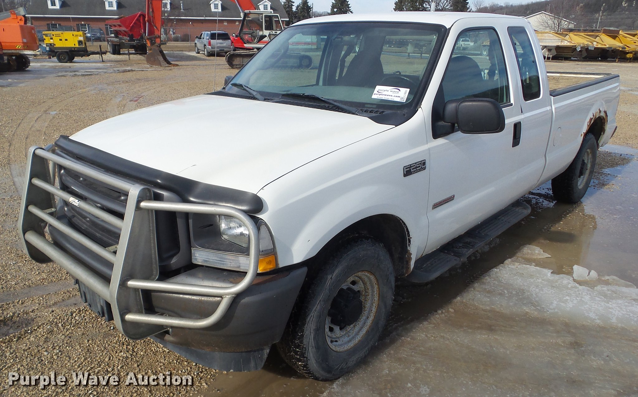 2004 Ford F250 Super Duty Supercab Pickup Truck Item L5651 F 250 Image For