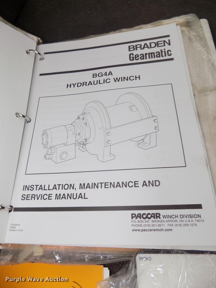 2005 Ford F650 Super Duty service truck with crane   Item DD... Warn Winch Controller Wiring Diagram on