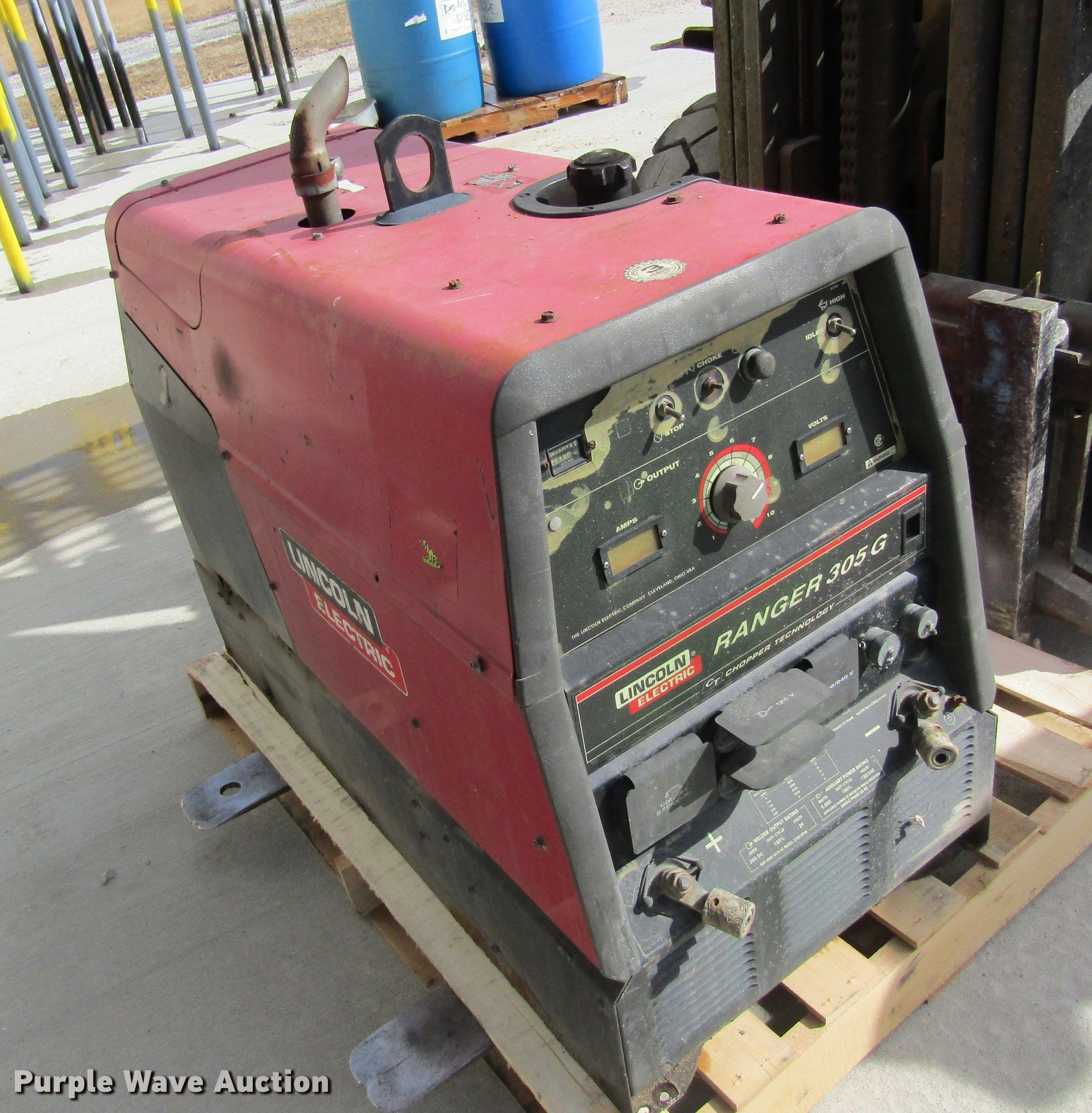 Lincoln Welders For Sale >> Lincoln Ranger 305g Welder Item Db5953 Sold March 22 Co