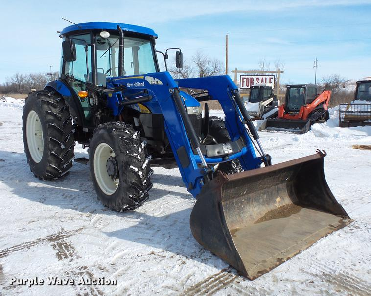 2009 New Holland TD5050 MFWD tractor   Item DV9552   SOLD! M... New Holland Td Wiring Diagram on