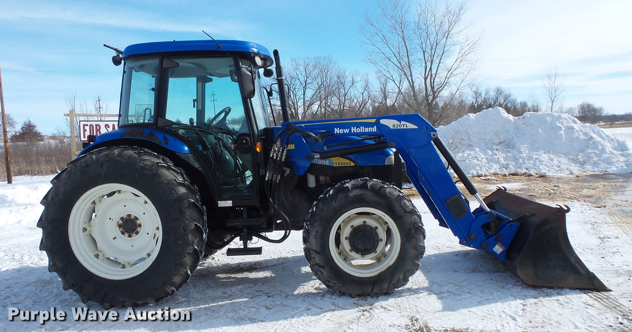 wiring diagram on new 2009 new holland td5050 mfwd tractor | item  dv9552 | sold! m
