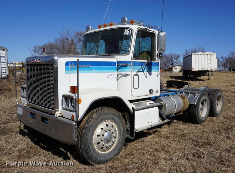 1978 Gmc General Semi Truck In Holton Ks Item De3094 Sold