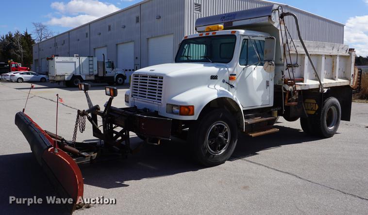 1997 International 4700 Dump Truck Item DE3100 SOLD Apr