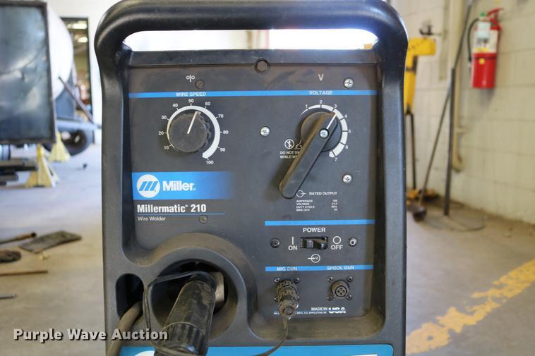 Miller Millermatic 210 MIG wire welder | Item EW9035 | SOLD!