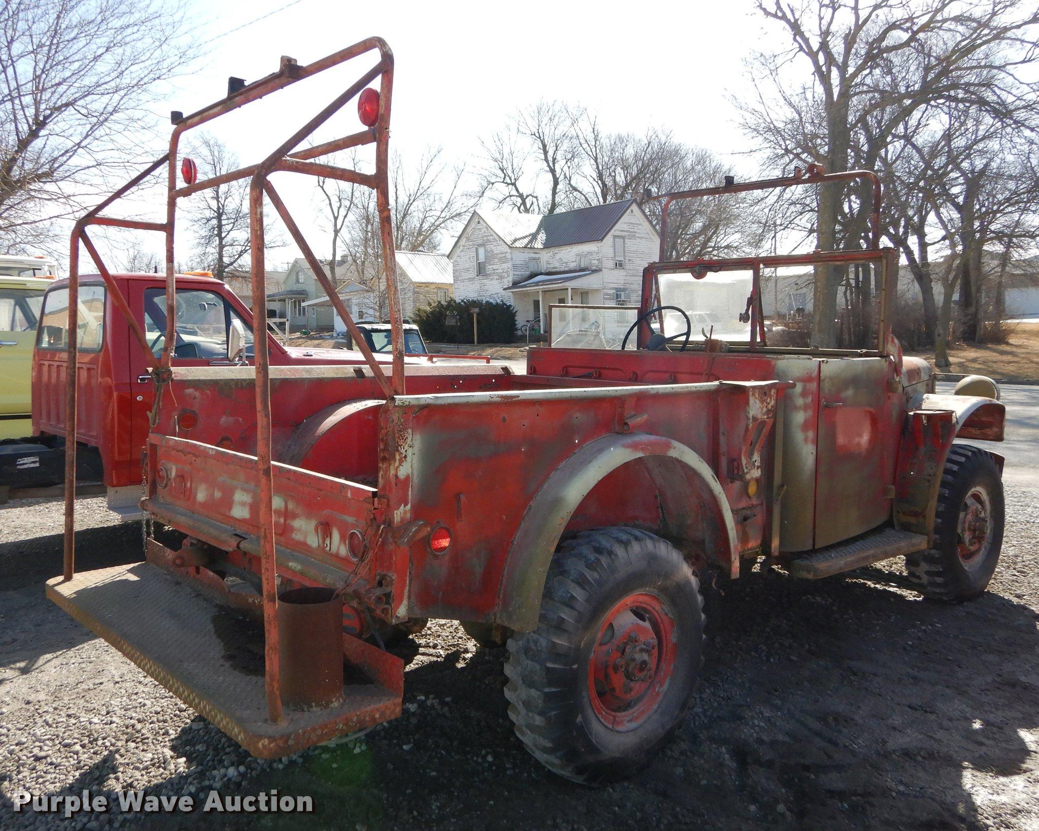 1964 Dodge M37 pickup truck   Item DC0269   SOLD! April 3 Go