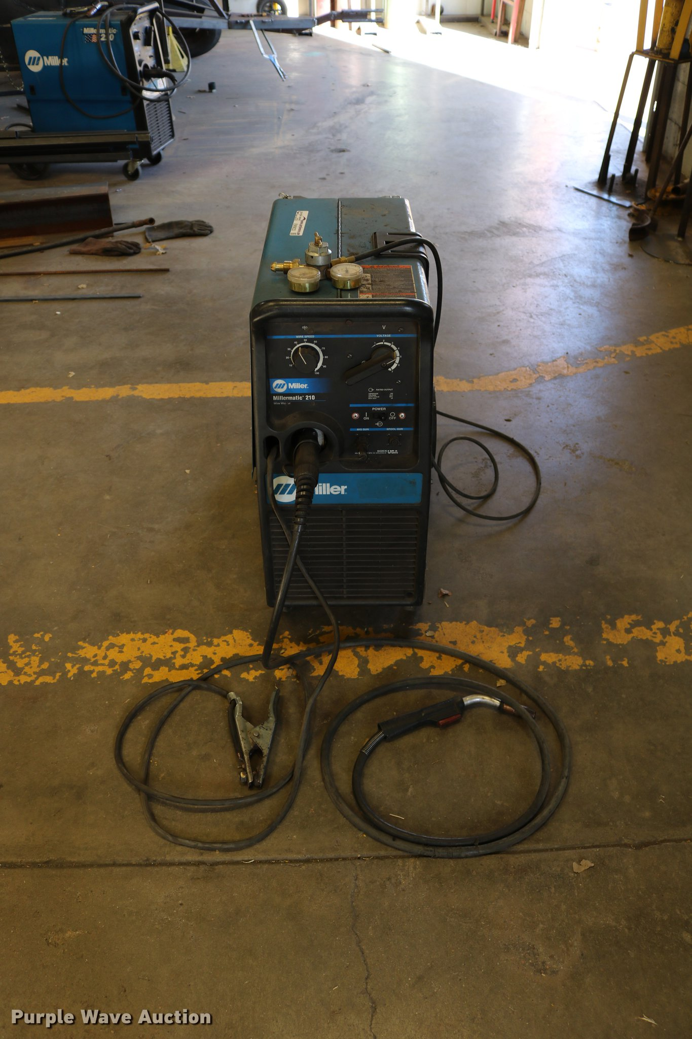 Miller Millermatic 210 Mig Wire Welder Item Ew9033 Sold Wiring A Full Size In New Window