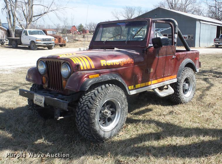 1980 Jeep Cj7 Renegade In Iola  Ks