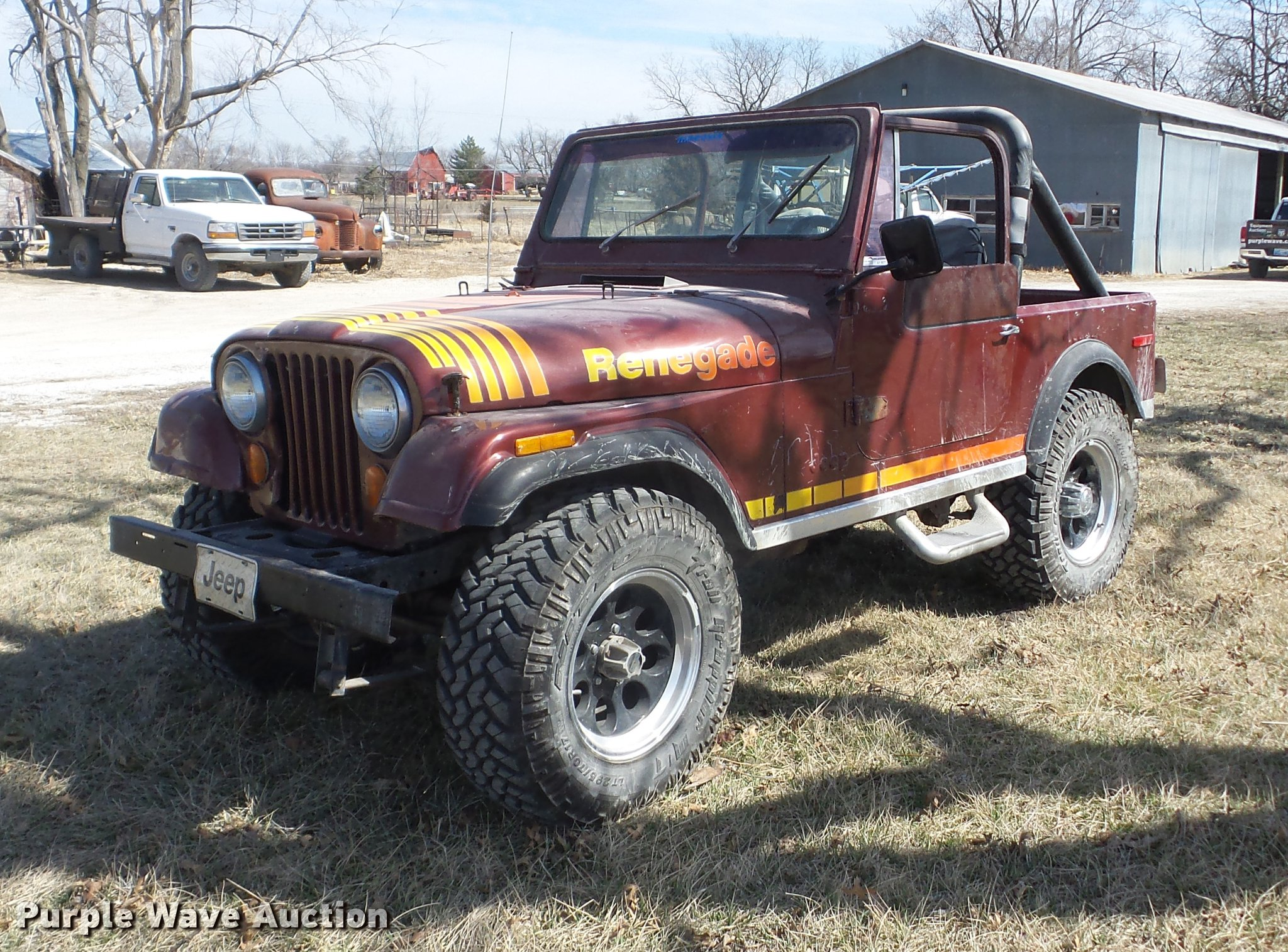 1980 Jeep CJ7 Renegade Item AY9577