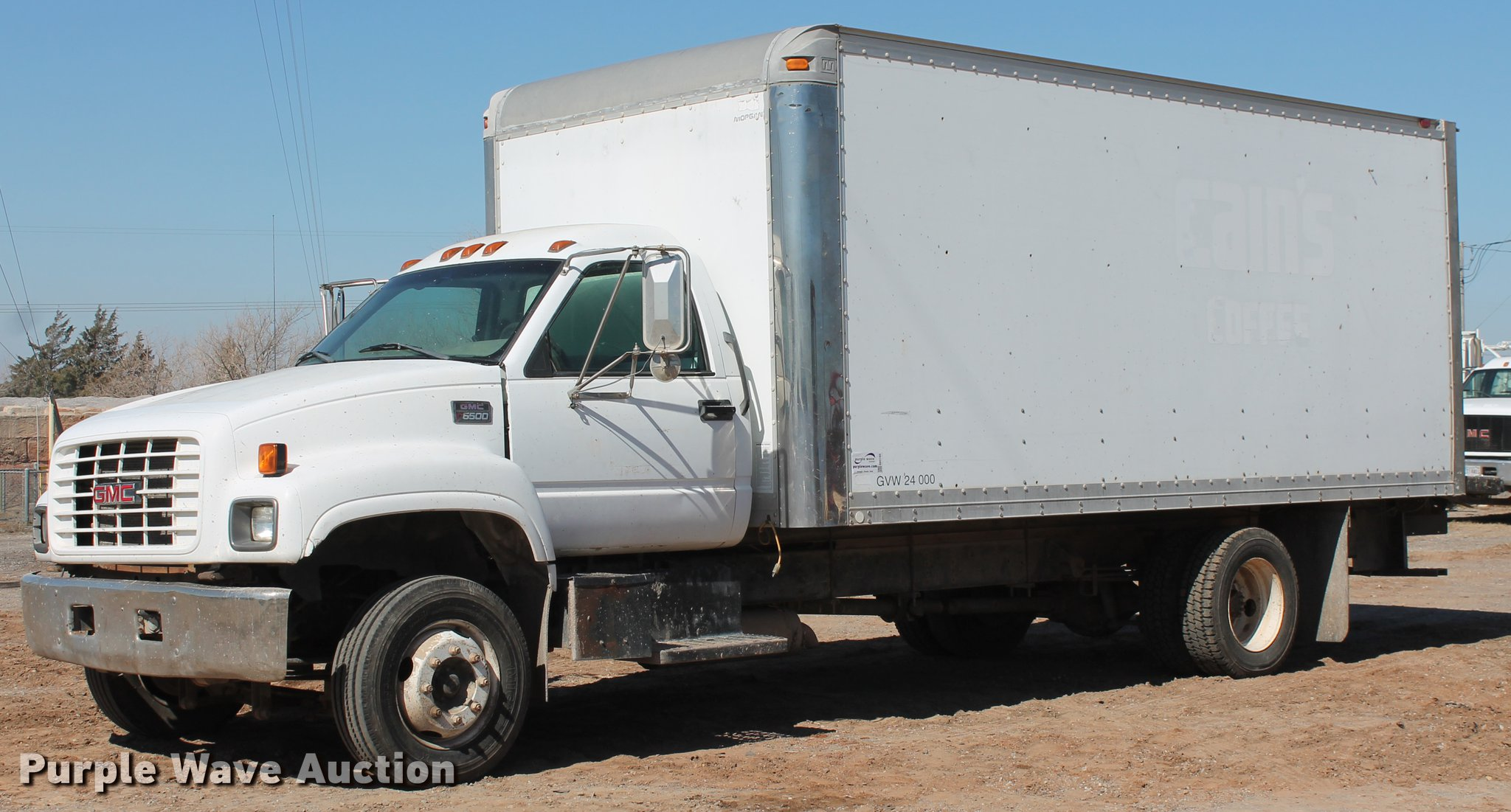 2002 gmc c6500 box truck item db5165 sold! april 4 vehic GMC Dump Truck db5165 image for item db5165 2002 gmc c6500 box truck