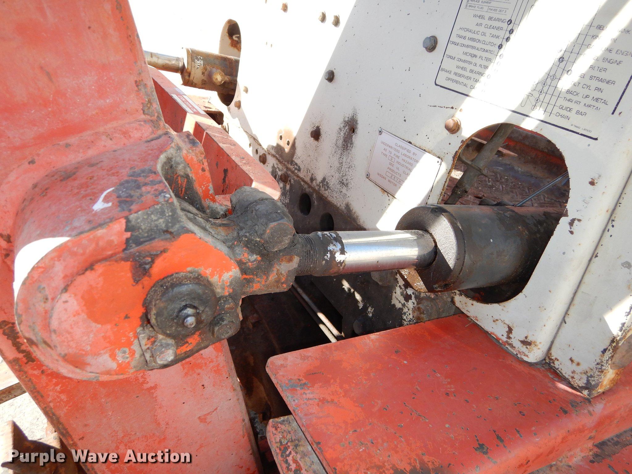Datsun PF02 5000 forklift | Item DC0326 | SOLD! April 4 Vehi