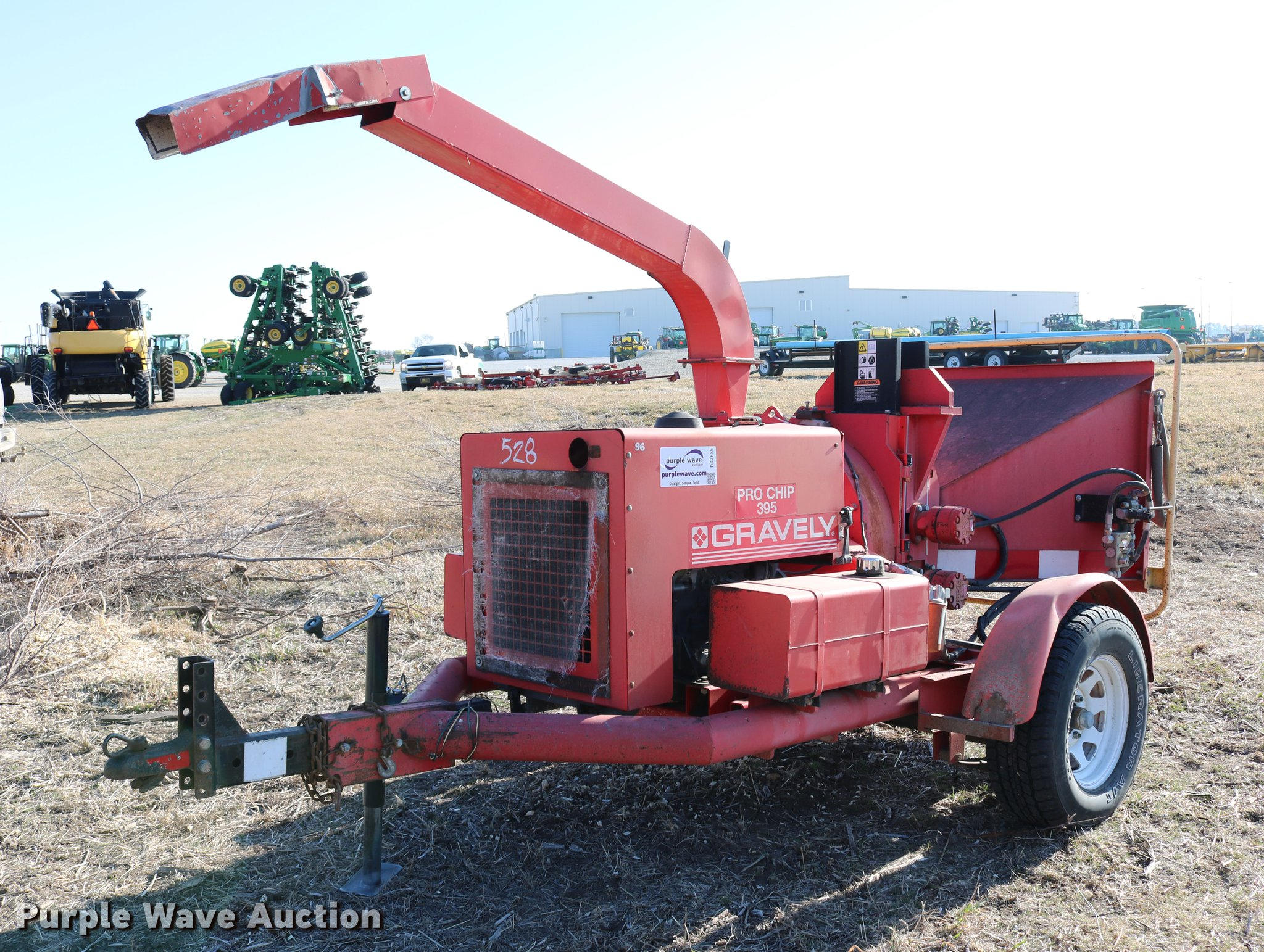 DC7685 image for item DC7685 1997 Gravely Pro ...