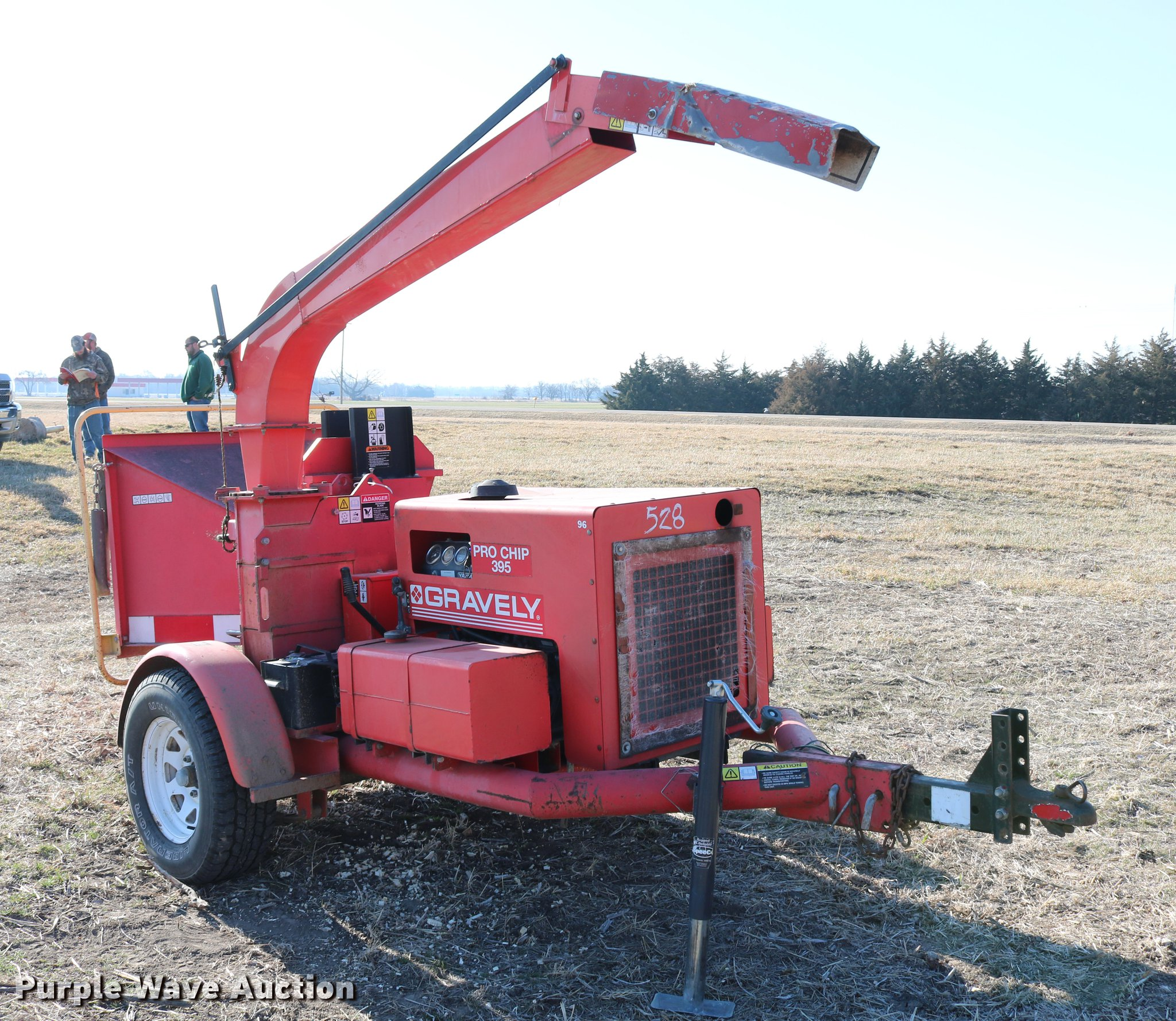 ... 1997 Gravely Pro Chip 395 wood chipper Full size in new window ...