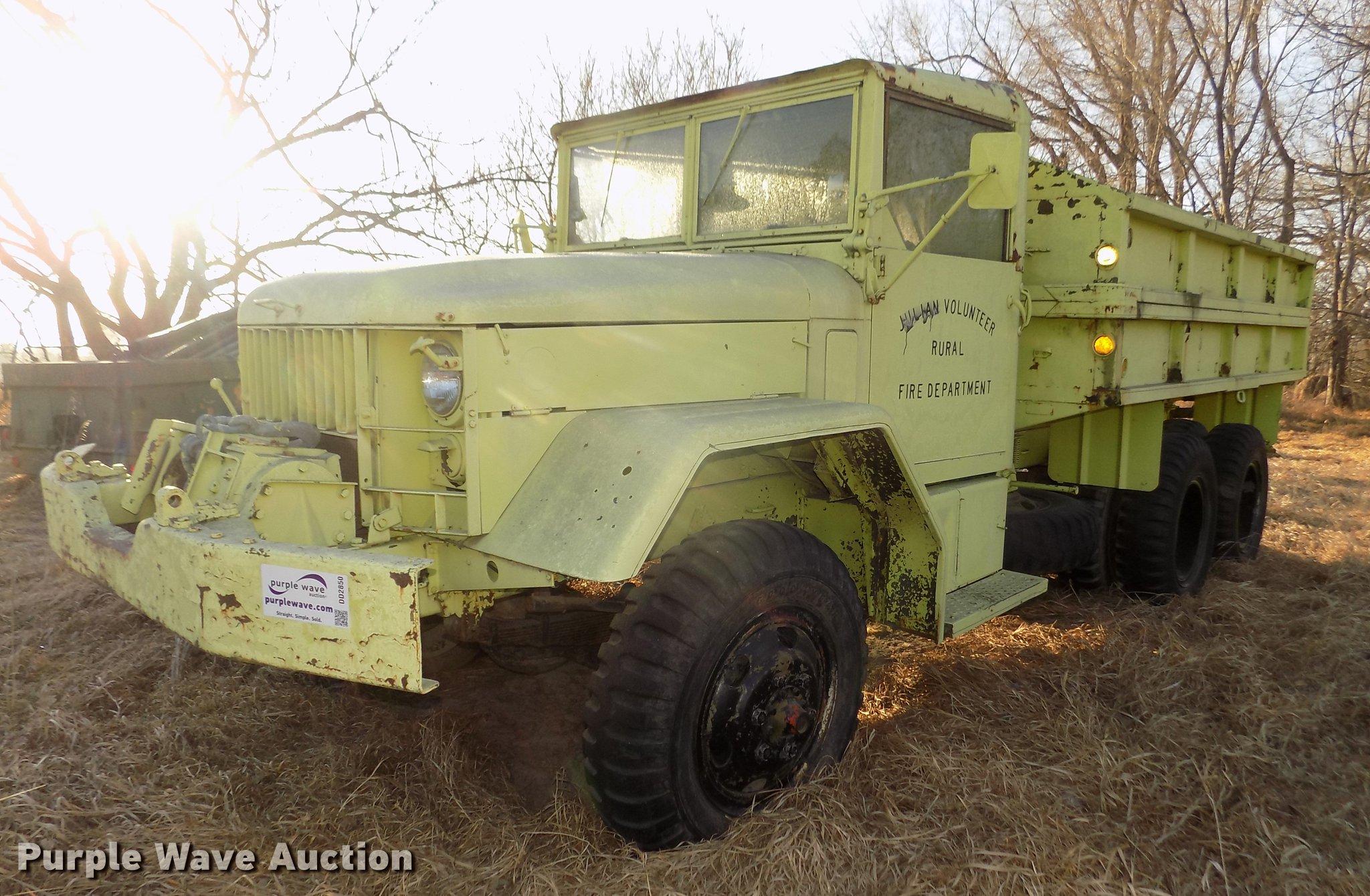 1957 Reo M35 tank truck   Item DD2850   SOLD! April 4 Vehicl