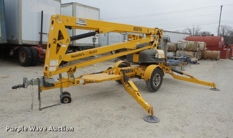 2011 Bil-Jax 4527A boom lift | Item AY9599 | SOLD! April 5 C