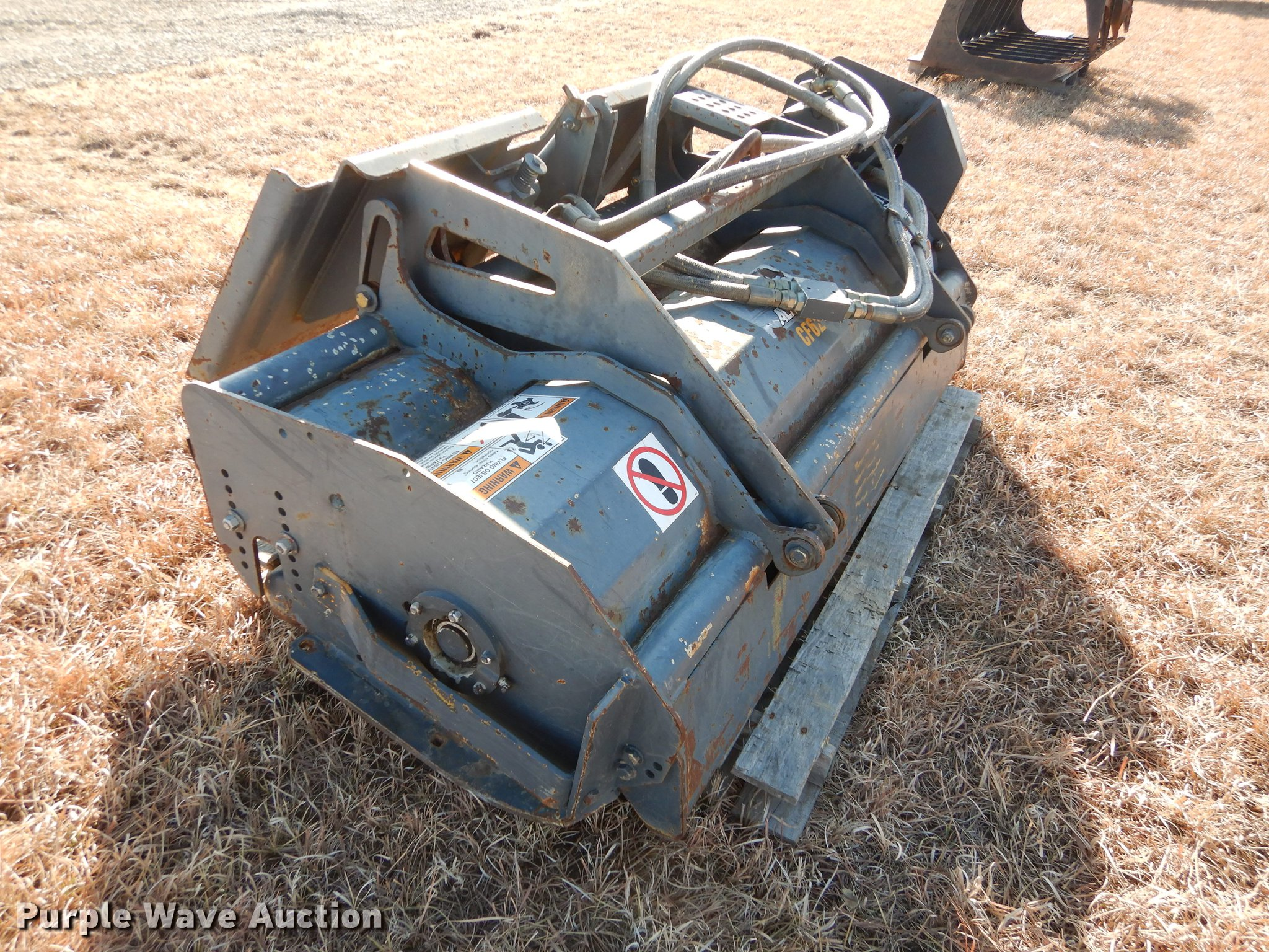 Case Alitec skid steer flail mower   Item DC0342   SOLD! Apr