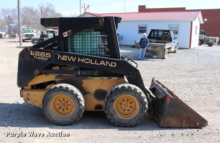 1997 New Holland LX665 Turbo skid steer | Item DC7678 | SOLD... Lx New Holland Wiring Diagram on