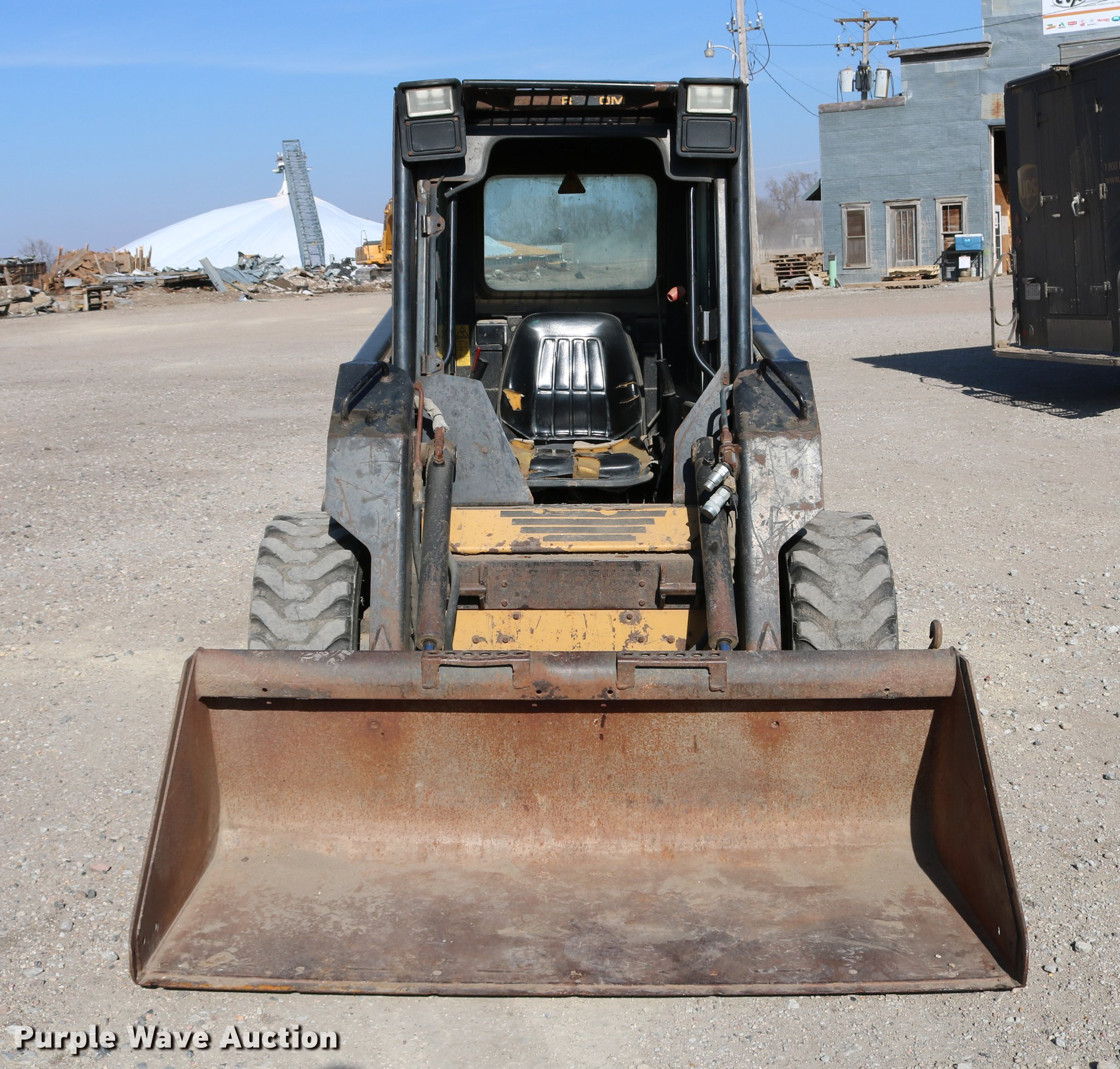 1997 New Holland LX665 Turbo skid steer | Item DC7678 | SOLD... New Holland Lx Turbo Wiring Schematic on