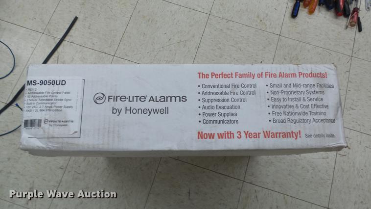 Fire-Lite MS-9050UD fire alarm control panel | Item EA9952 |