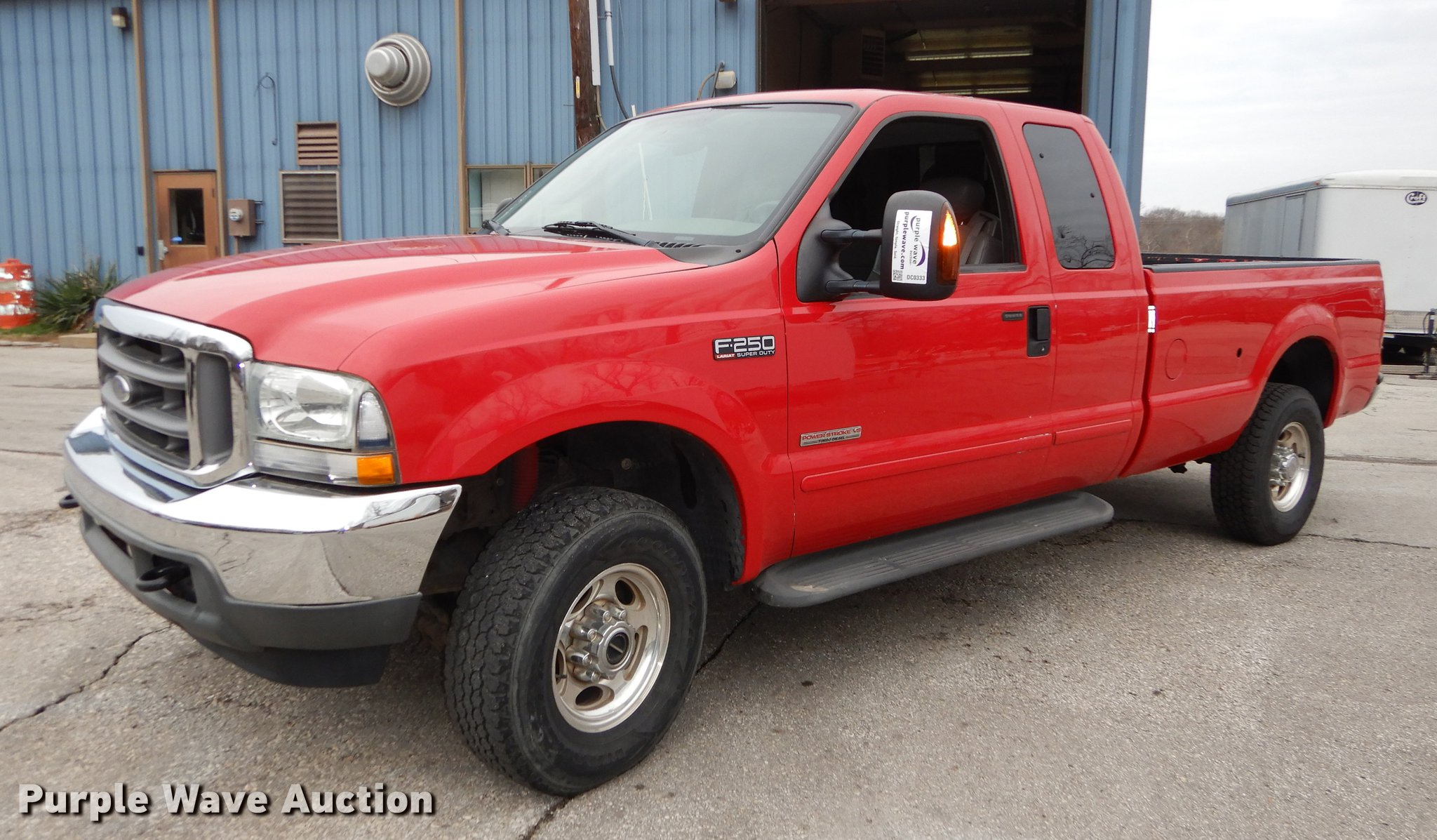 2004 Ford F250 Lariat Super Duty Supercab Pickup Truck Ite Dc0333 Image For Item