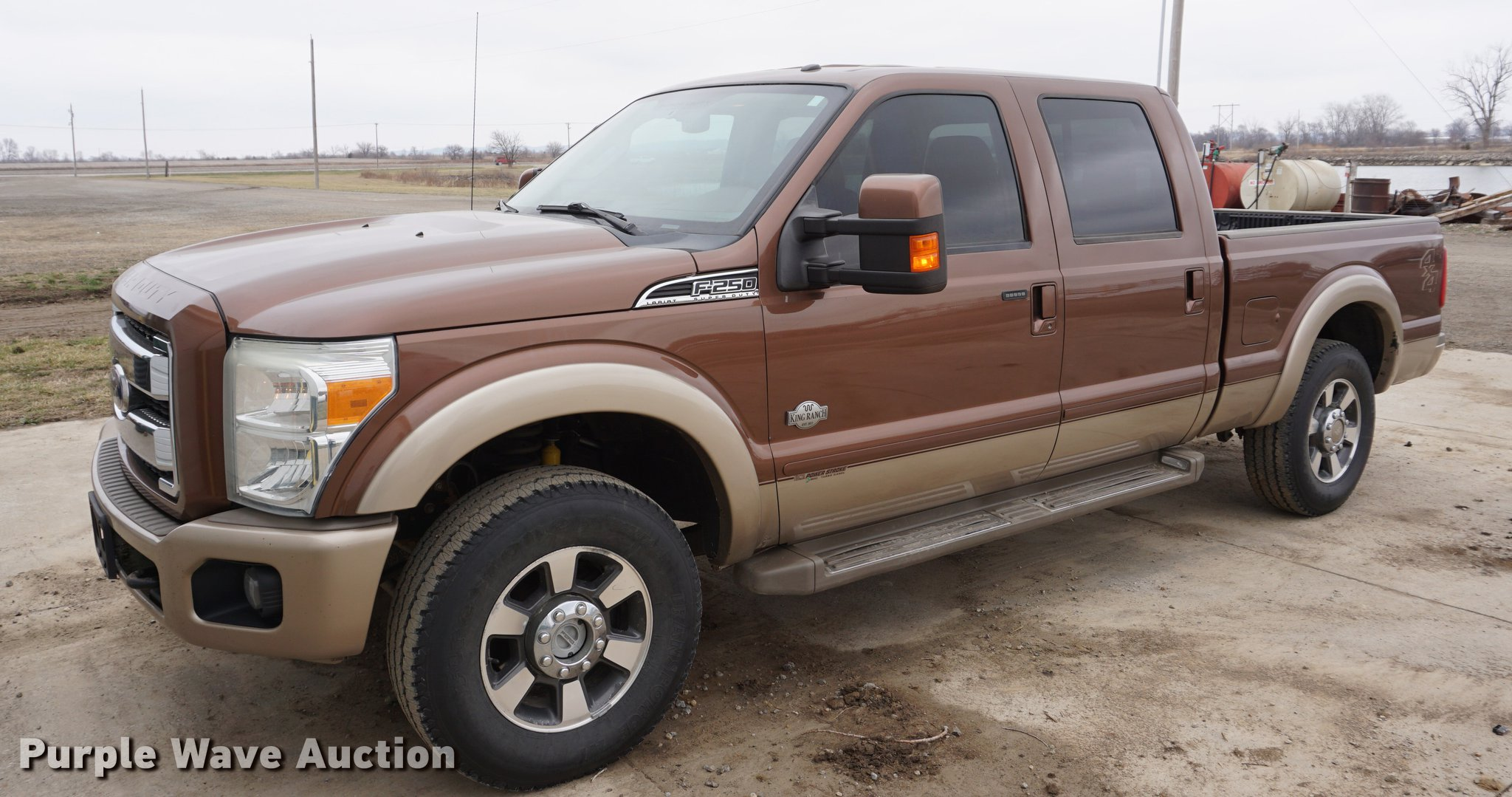 2011 Ford F250 Super Duty King Ranch Crew Cab pickup truck