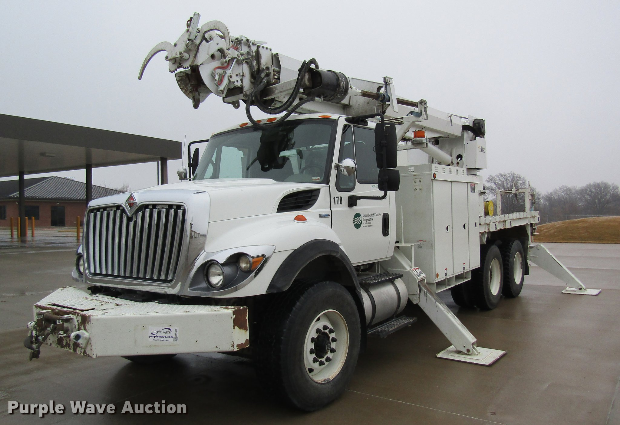 2009 International 7500 digger derrick truck | Item DB5956 |