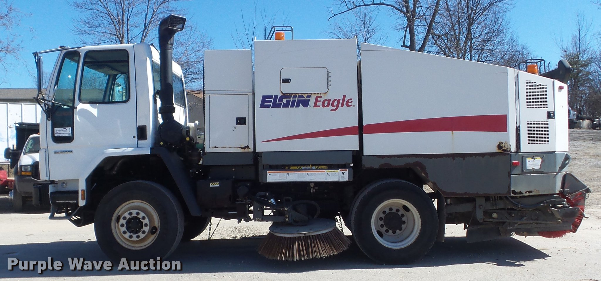 ... Elgin Eagle series F street sweeper Full size in new window ...