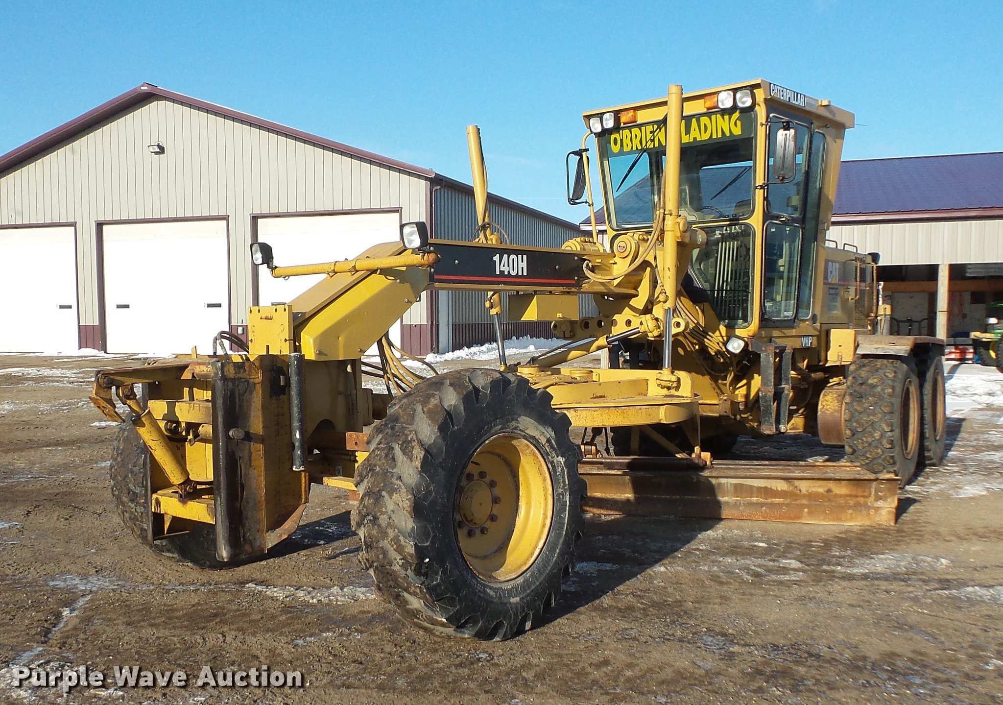 1997 Caterpillar 140H motor grader | Item DV9588 | SOLD! Apr