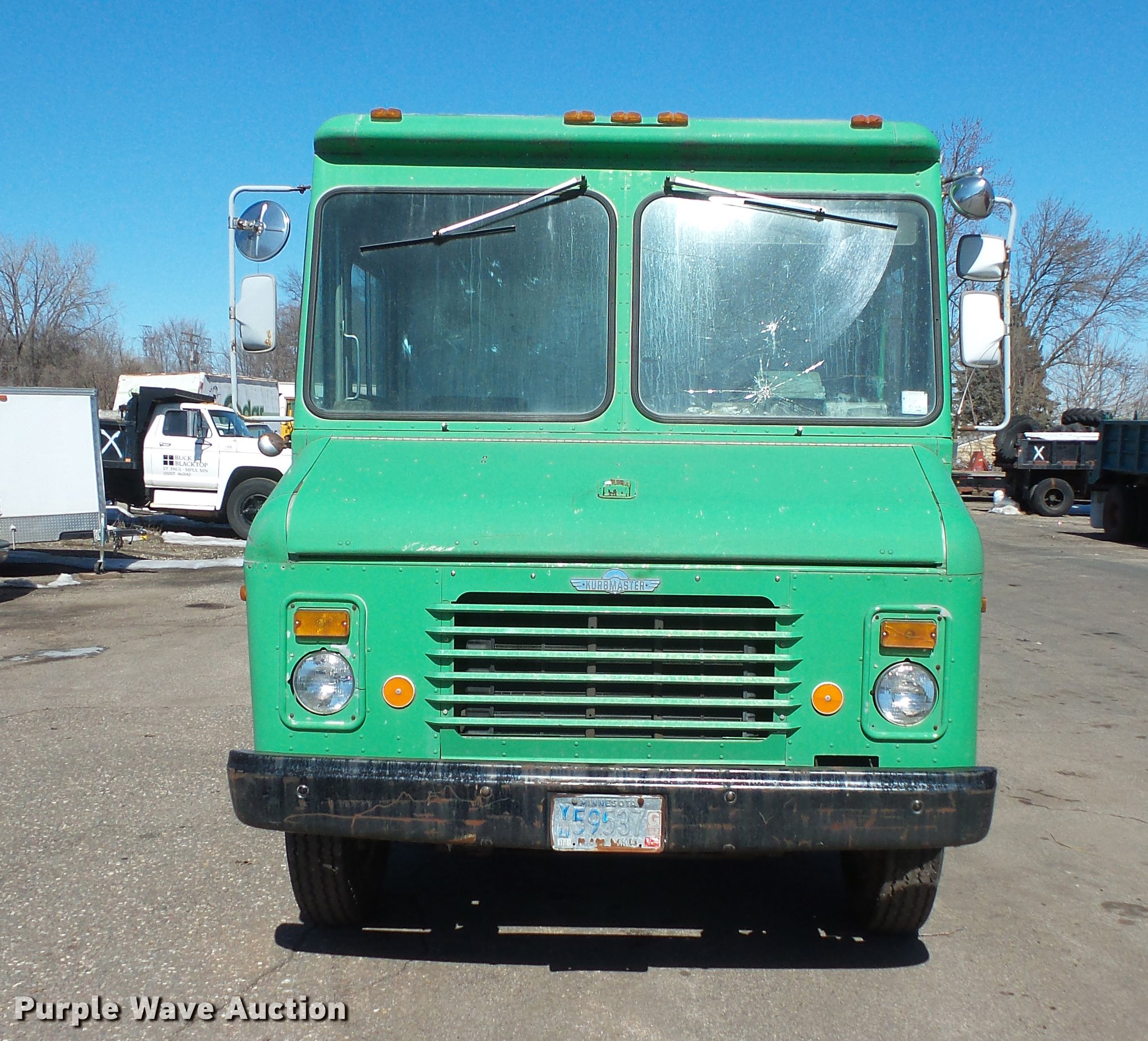 1987 GMC Grumman Kurbmaster delivery truck | Item DW9566 | S