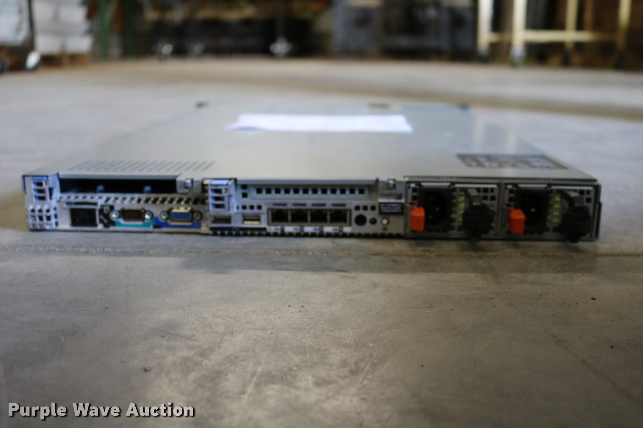 Dell PowerEdge R610 server | Item EW9055 | SOLD! May 1 Gover