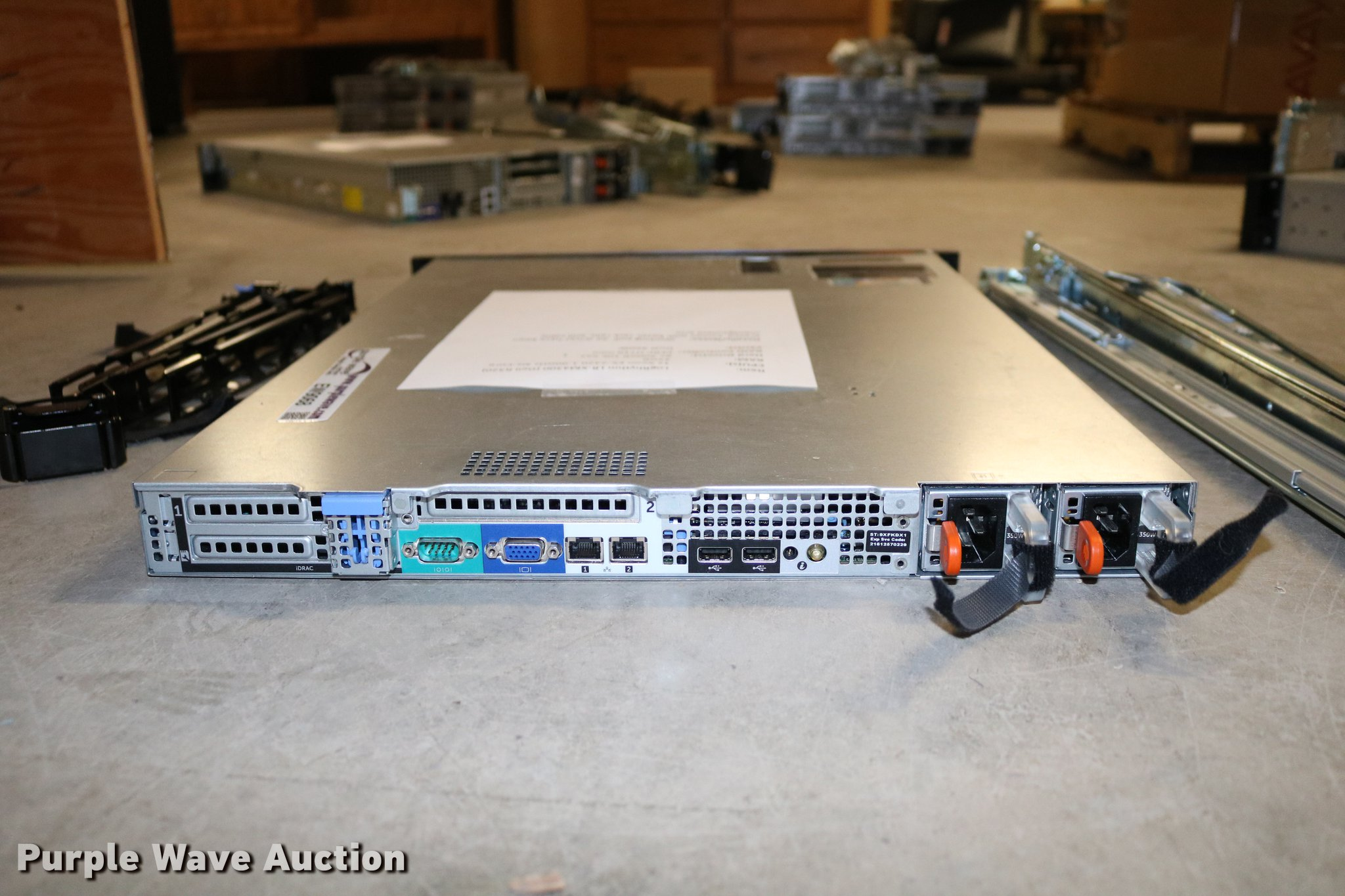 Dell R320 LogRhythm LR-XM4300 server | Item EW9068 | SOLD! M