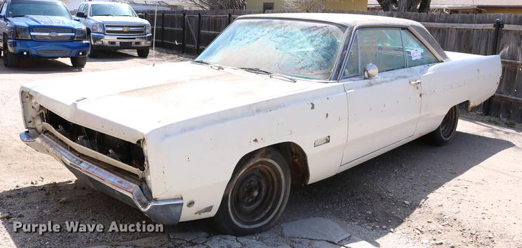 DB6543 Image For Item 1968 Plymouth Fury III