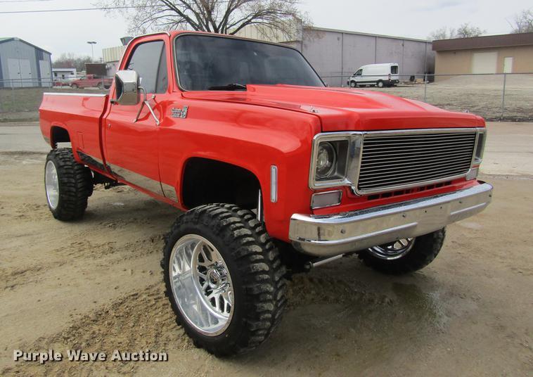1979 Chevy Truck >> 1979 Chevrolet Custom Deluxe 20 Pickup Truck Item Dc4374