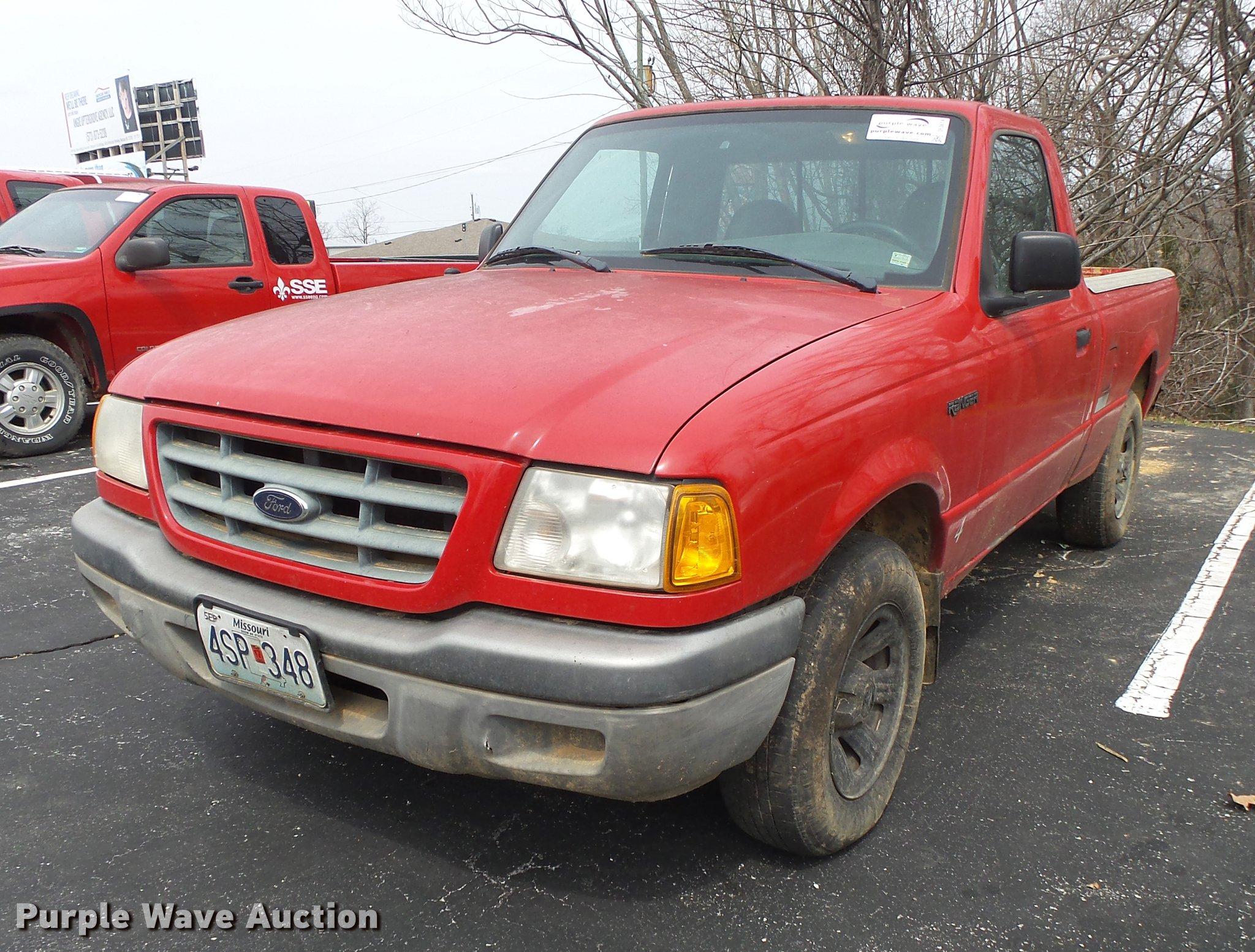 De3614 image for item de3614 2001 ford ranger