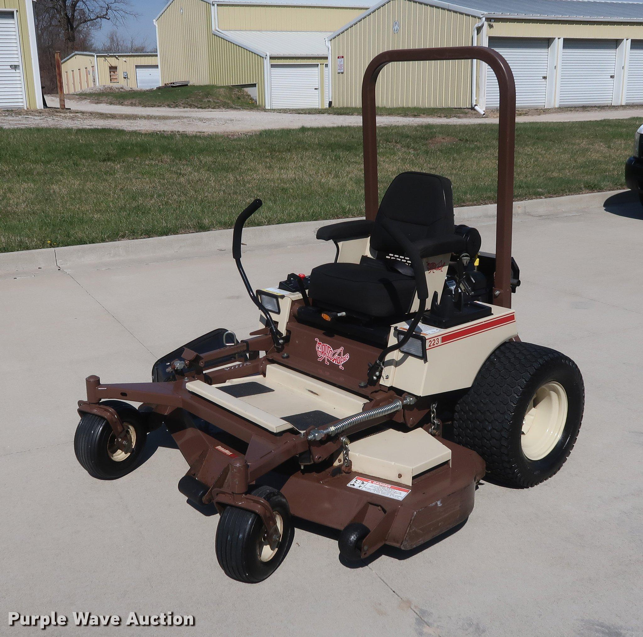 Grasshopper 223 ZTR lawn mower | Item EL9296 | SOLD! May 2 V