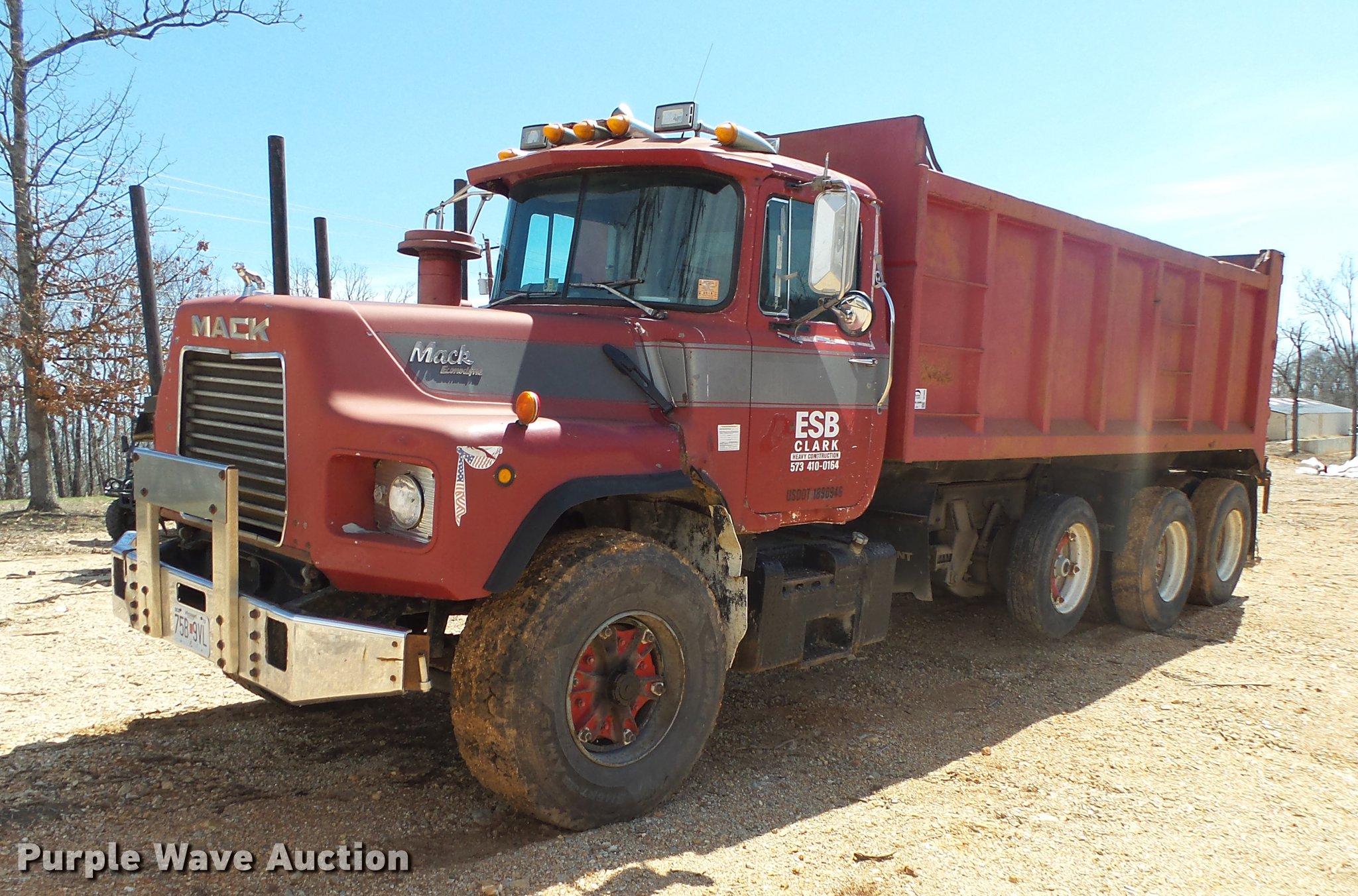 1989 Mack DM690S dump truck | Item DE3605 | SOLD! May 3 Cons... Mack Granite Wiring Diagram Heated Window on
