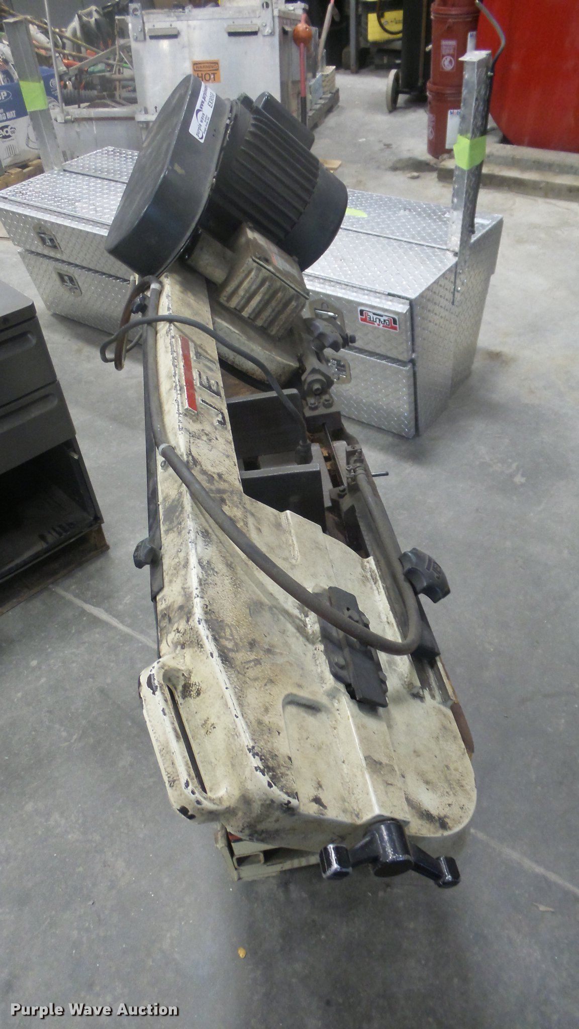 Jet Band Saw Item Ex9068 Sold May 8 City Of Wichita Auc