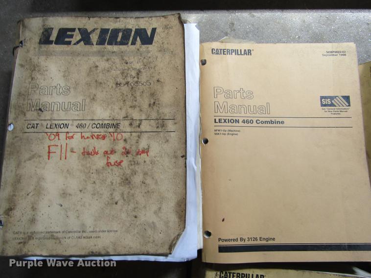 1998 lexion 460 combine item de6711 sold! may 9 ag equip engine components labeled de6711 image for item de6711 1998 lexion 460 combine