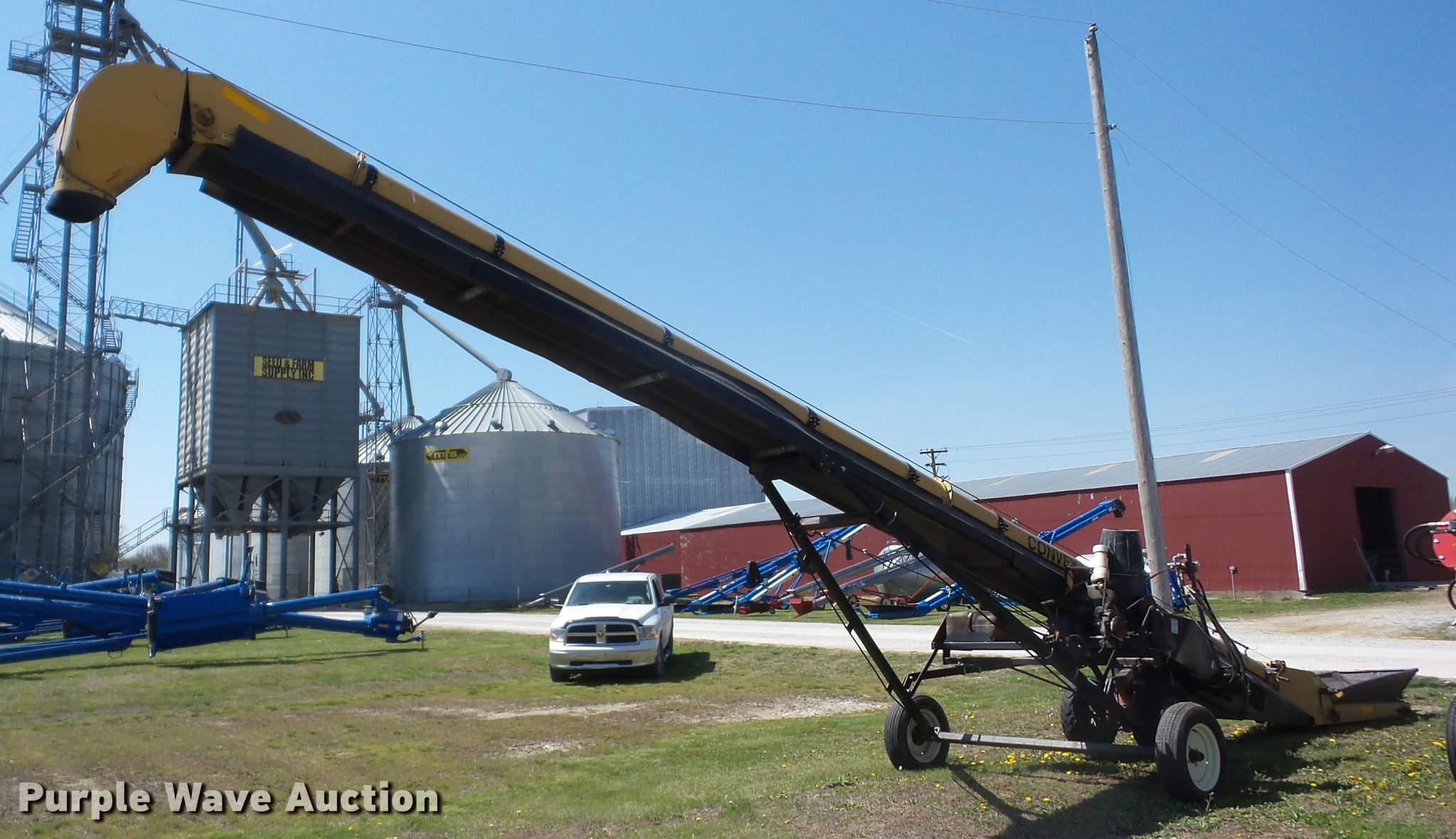 Convey All TCSNH-1035 grain conveyor | Item AY9522 | SOLD! M