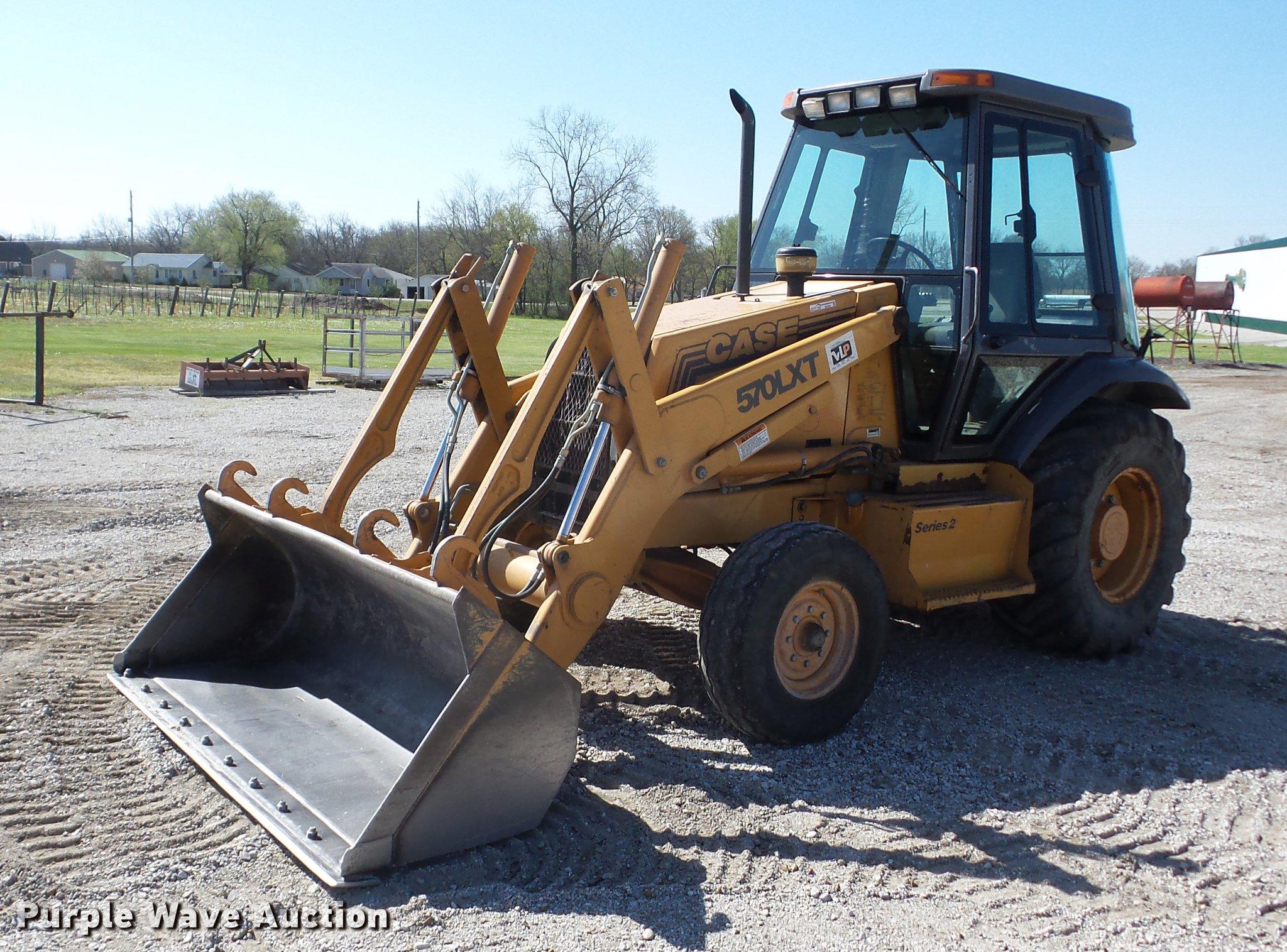 1996 Case 580L XT Series 2 landscape tractor | Item EI9790 |