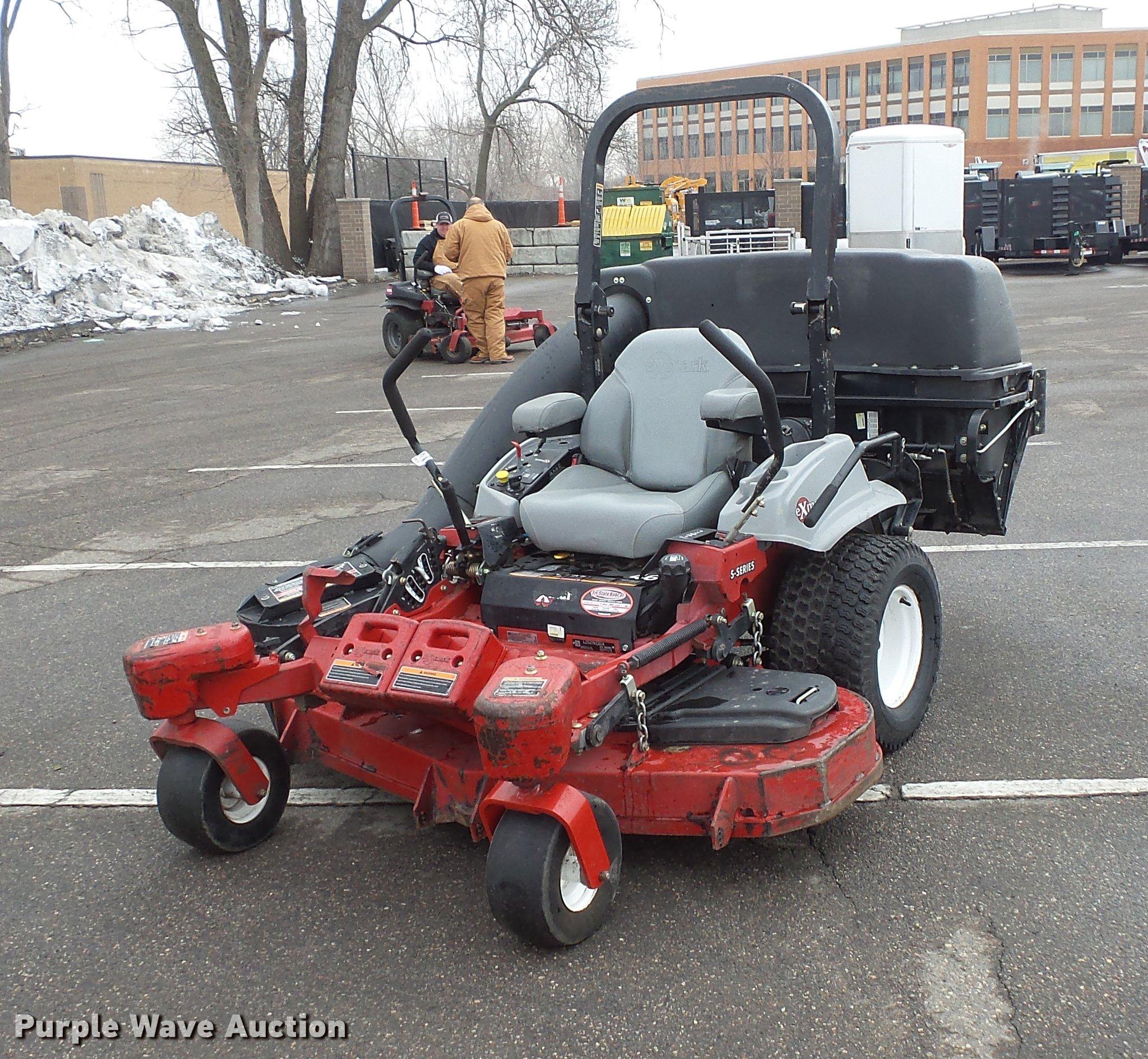 DV9627 image for item DV9627 Exmark Laser Z ZTR lawn mower