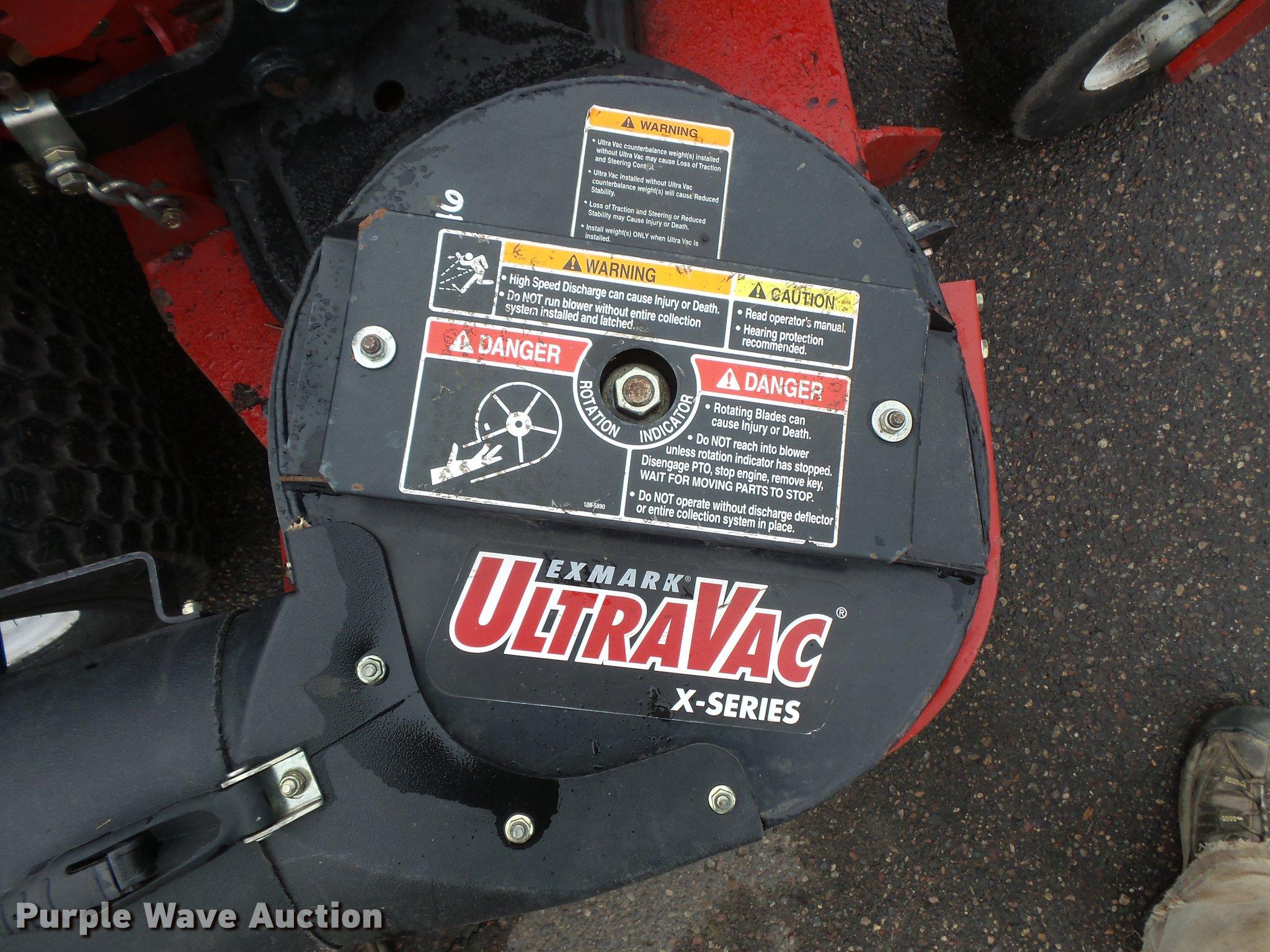 Exmark Laser Z ZTR lawn mower | Item DV9627 | SOLD! May 17 C