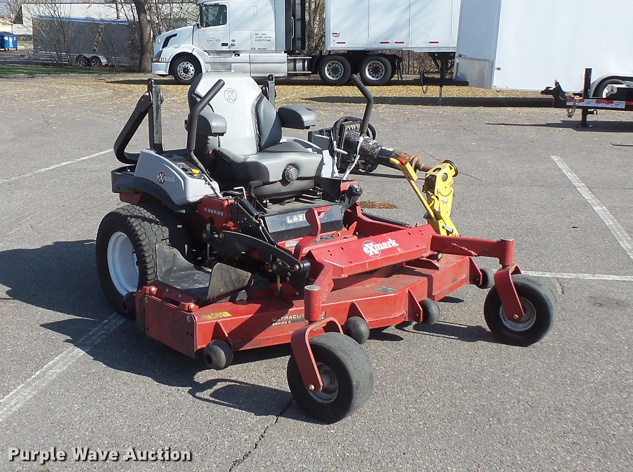 ... Laser Z ZTR lawn mower Full size in new window ...