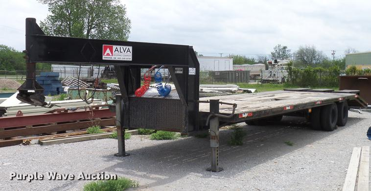 1997 west wind trailers equipment trailer item db5227 so